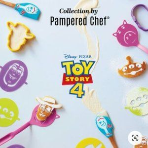 Pampered Chef Toy Story Set All New